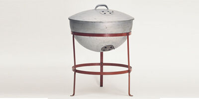 Original Weber Kettle Grill Prototype - History Of Charcoal & Gas Grilling