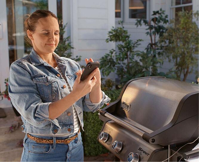Smart Spirit Gas Grill