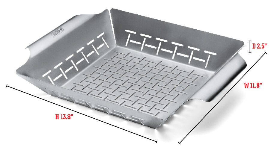 Deluxe Grilling Basket - Large