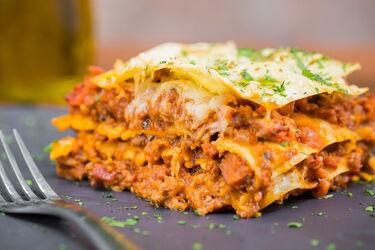Lasagna de Sirloin