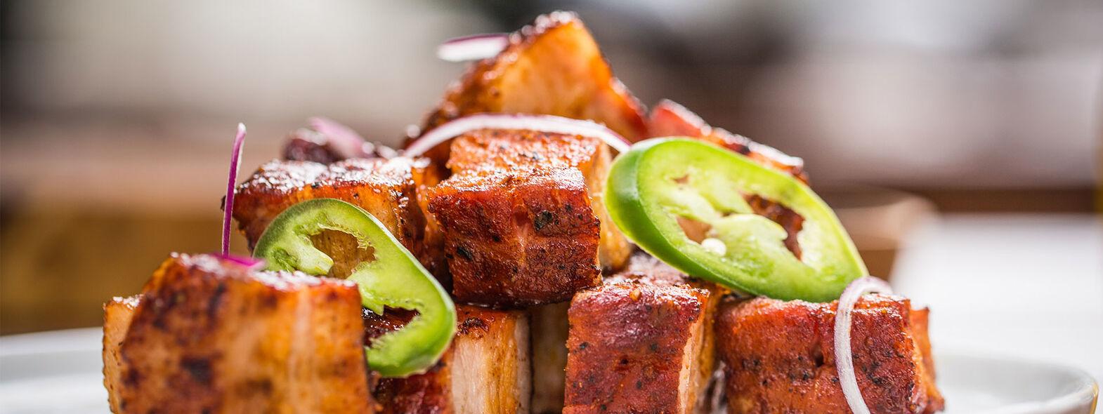 Short Rib Ahumada con BBQ