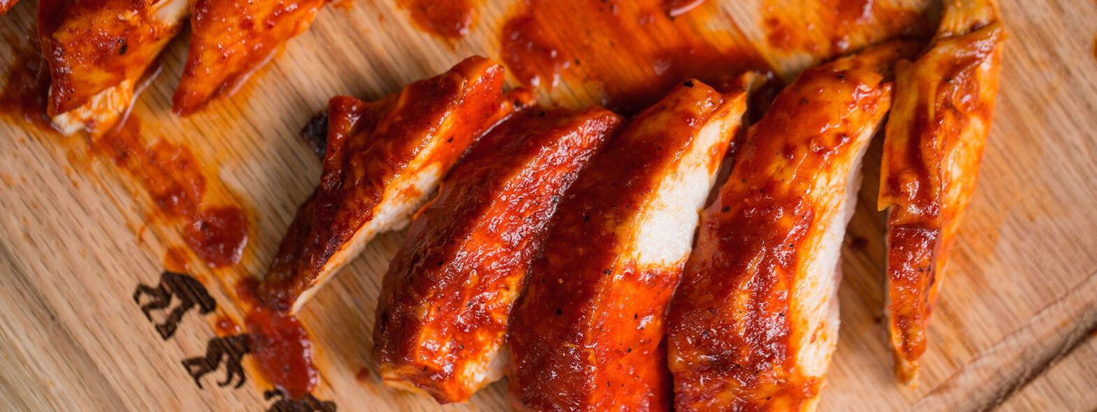 Pollo en Adobo de Chiles Secos