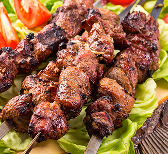Lucky Lamb Skewers