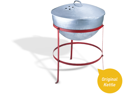 weber original kettle image
