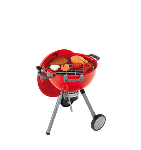 Roter Kindergrill