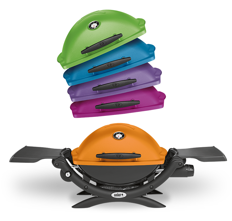 Q 1200 Gas Barbecue Color Variations