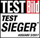 Testsieger Badge