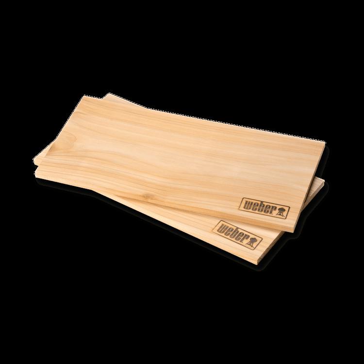 Räucherbretter, klein aus Zedernholz