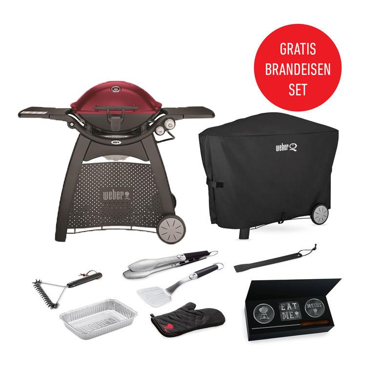 weber q 3200 gasgriller in maroon weber grill original. Black Bedroom Furniture Sets. Home Design Ideas