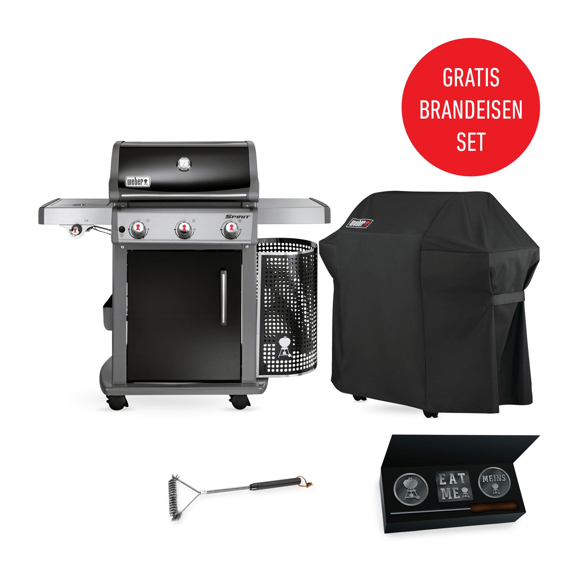 abdeckhaube premium f r spirit 300 serie weber grill original. Black Bedroom Furniture Sets. Home Design Ideas
