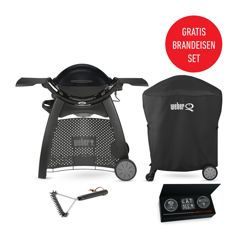 weber q 2400 station grill black line weber grill original. Black Bedroom Furniture Sets. Home Design Ideas