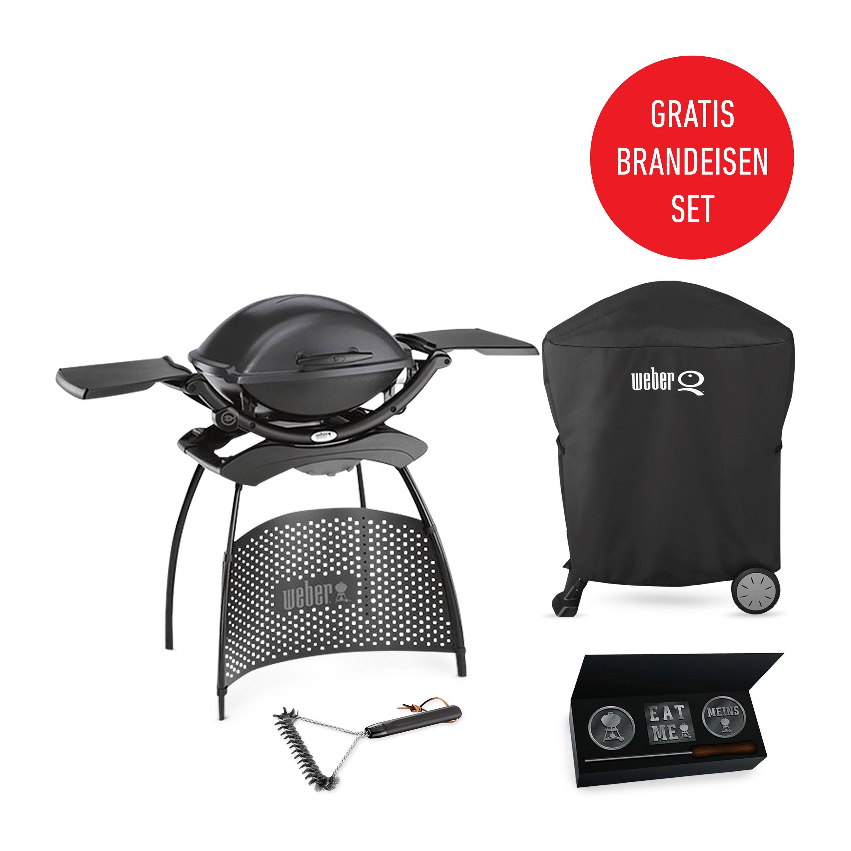 weber q 2400 stand griller in dark grey weber grill original. Black Bedroom Furniture Sets. Home Design Ideas