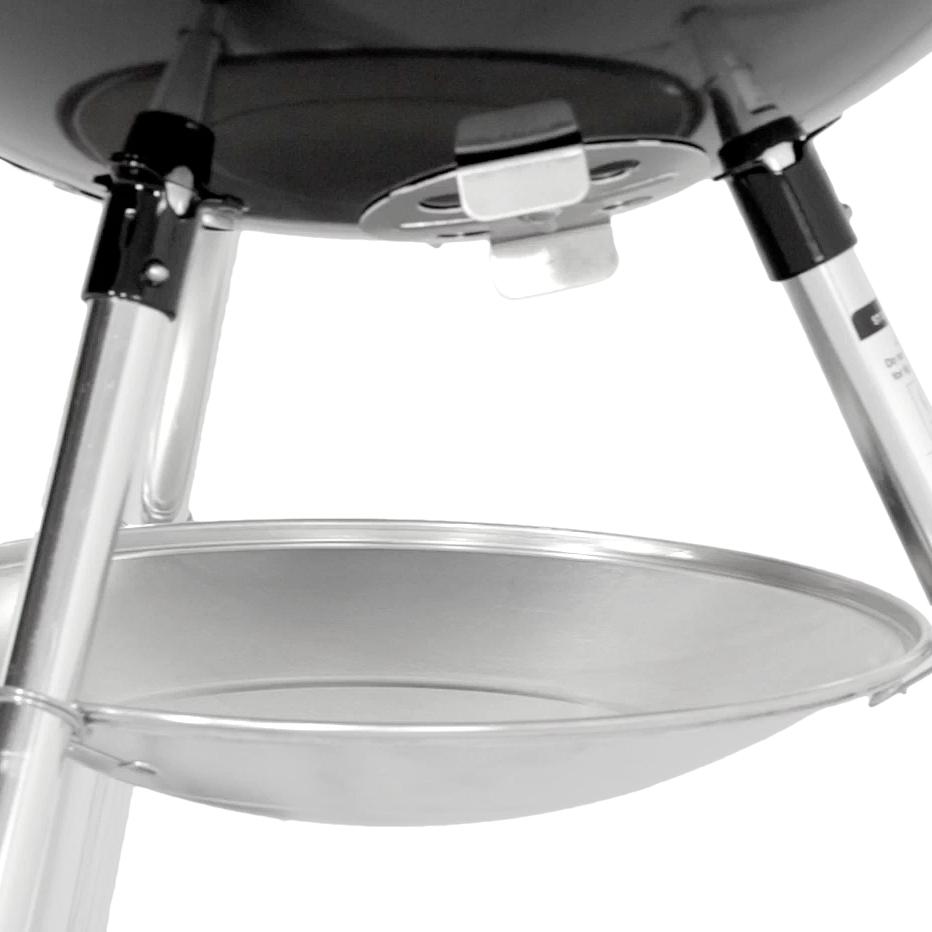 bar b kettle 47cm black weber barbecue original. Black Bedroom Furniture Sets. Home Design Ideas
