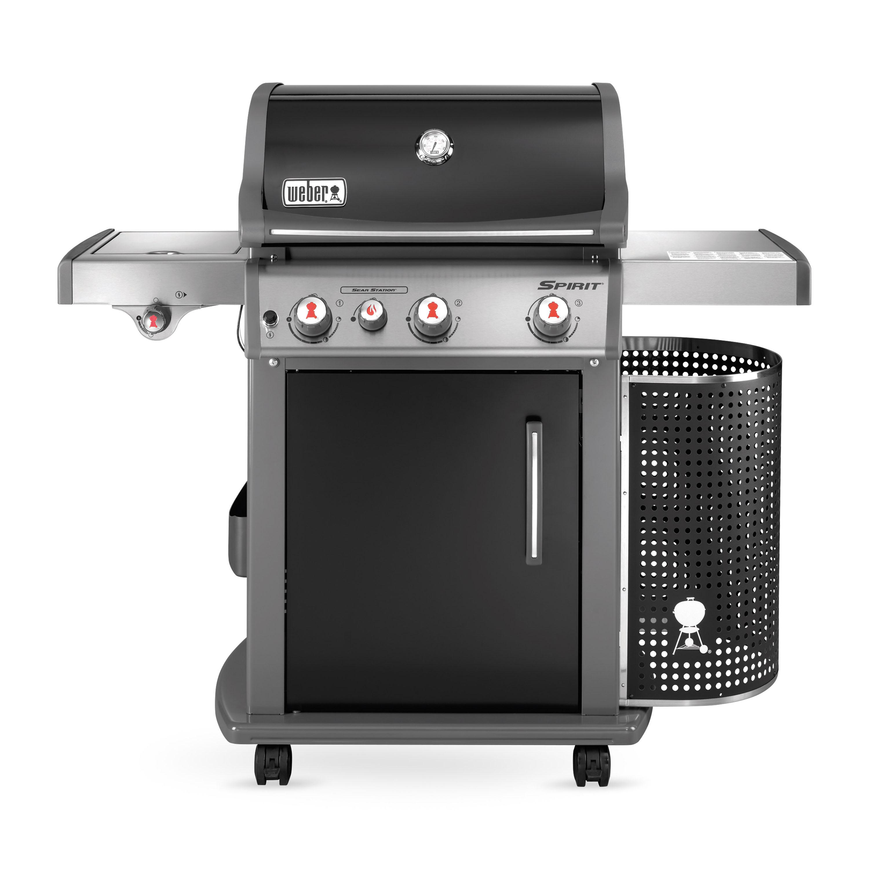 Spirit e 330 premium gbs grill in black weber grill for Weber grill danemark