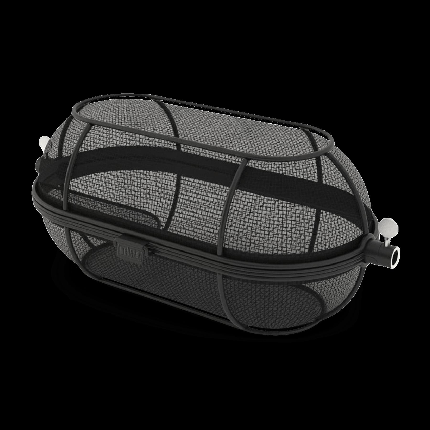 Premium Fine Mesh Rotisserie Basket