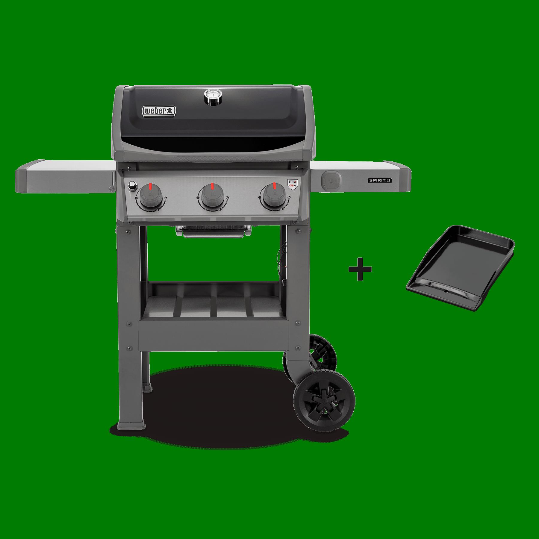 Barbecue à gaz SpiritII E-310 + Plancha