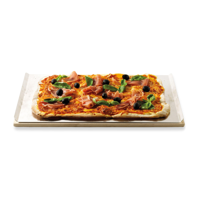Pizzasteen rechthoekig, 44 x 30 cm