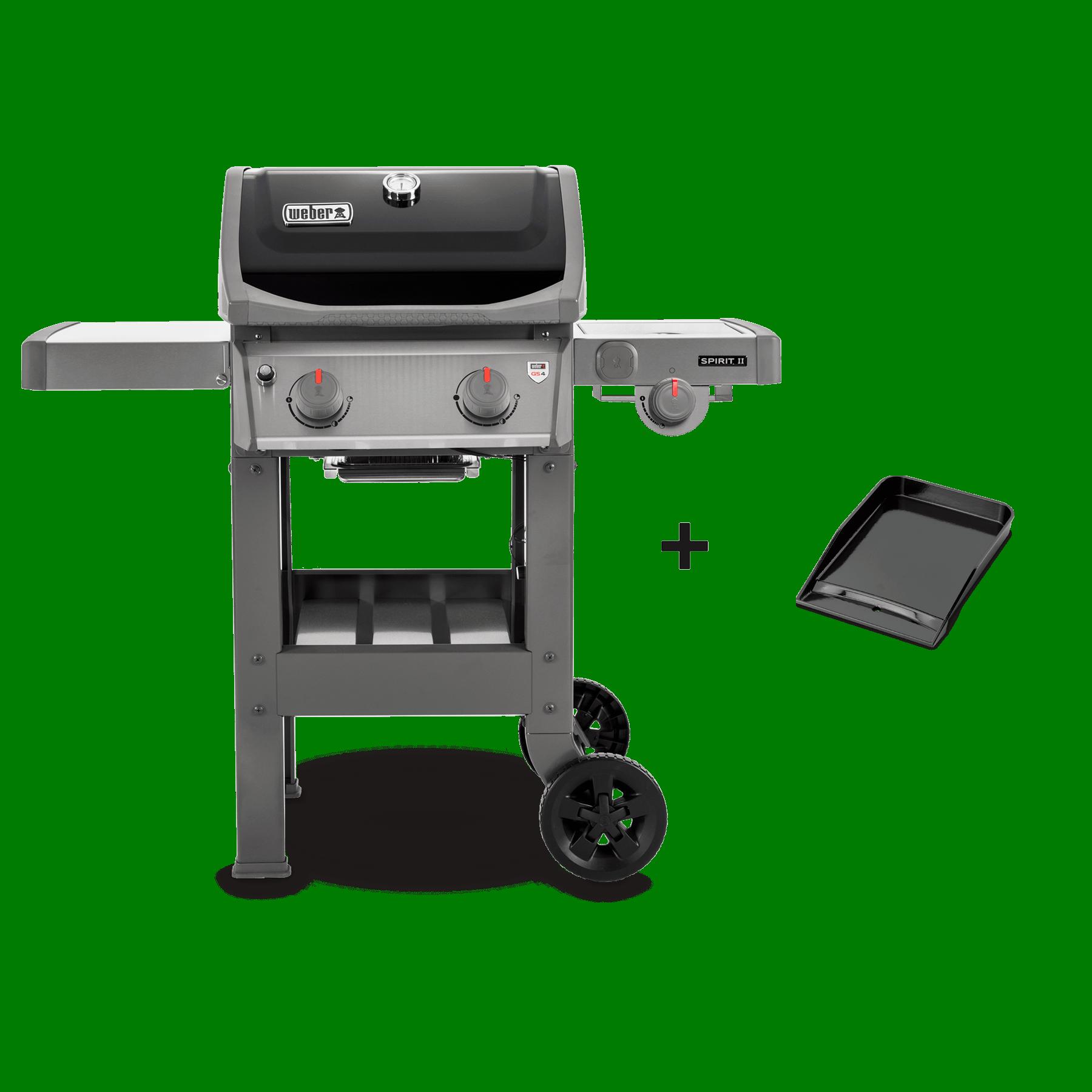 Barbecue à gaz SpiritII E-210 + Plancha