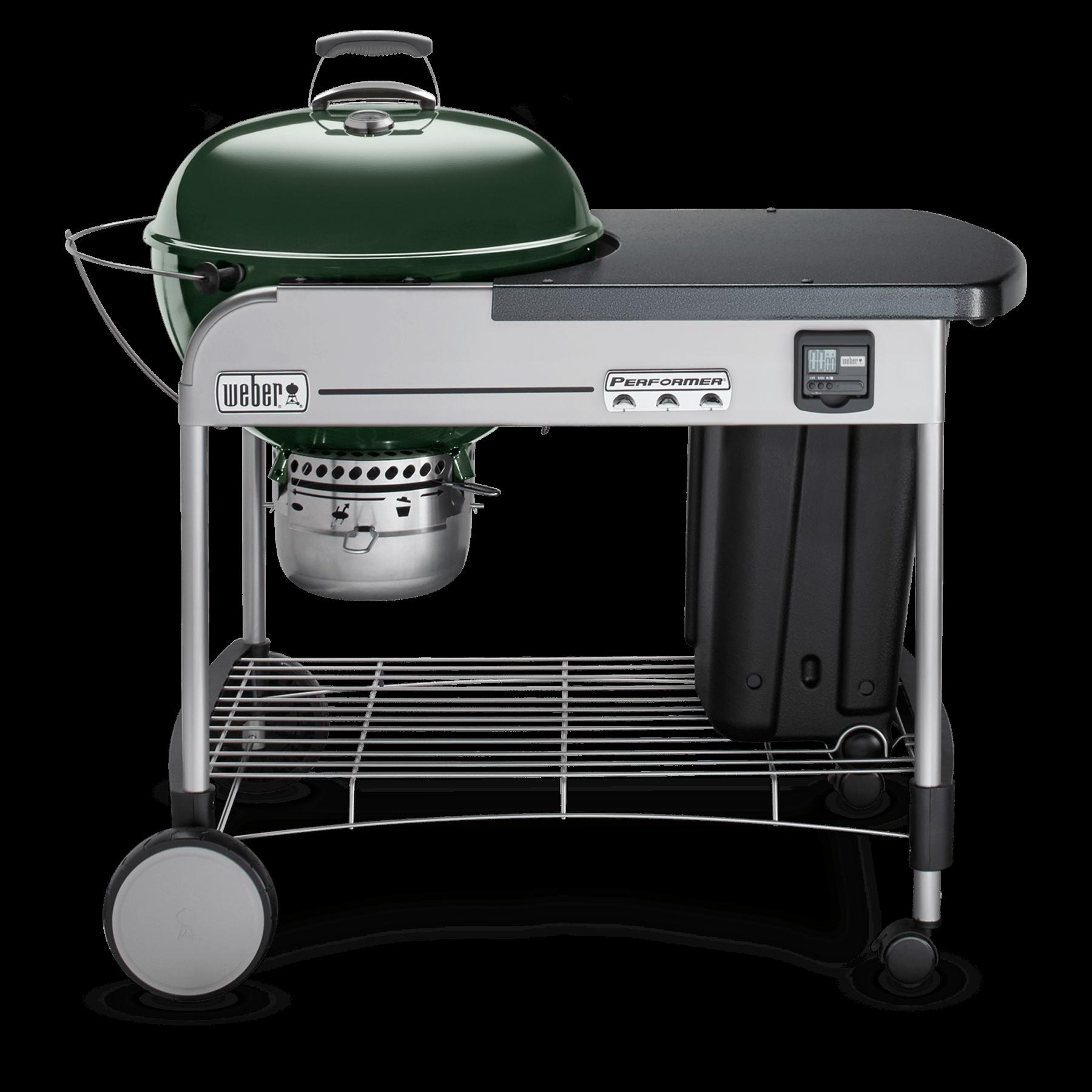 weber 22 performer premium charcoal grill weber grills. Black Bedroom Furniture Sets. Home Design Ideas