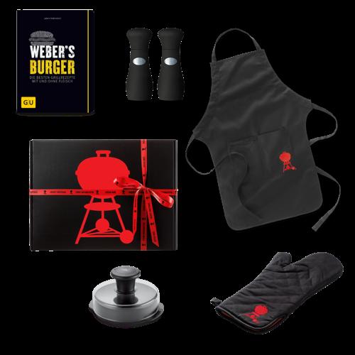 Weber Geschenkbox Burger-Set