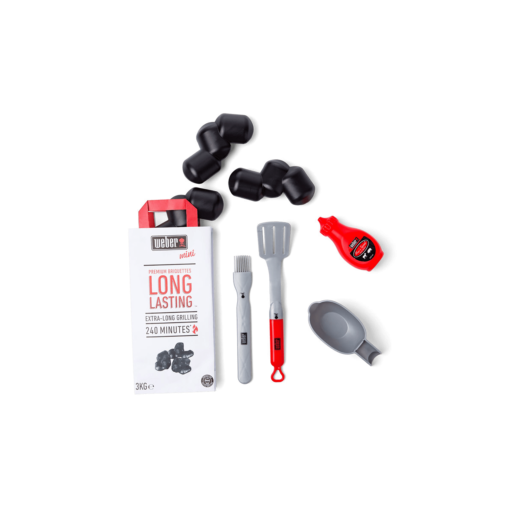 Toy Barbecue Accessory Set
