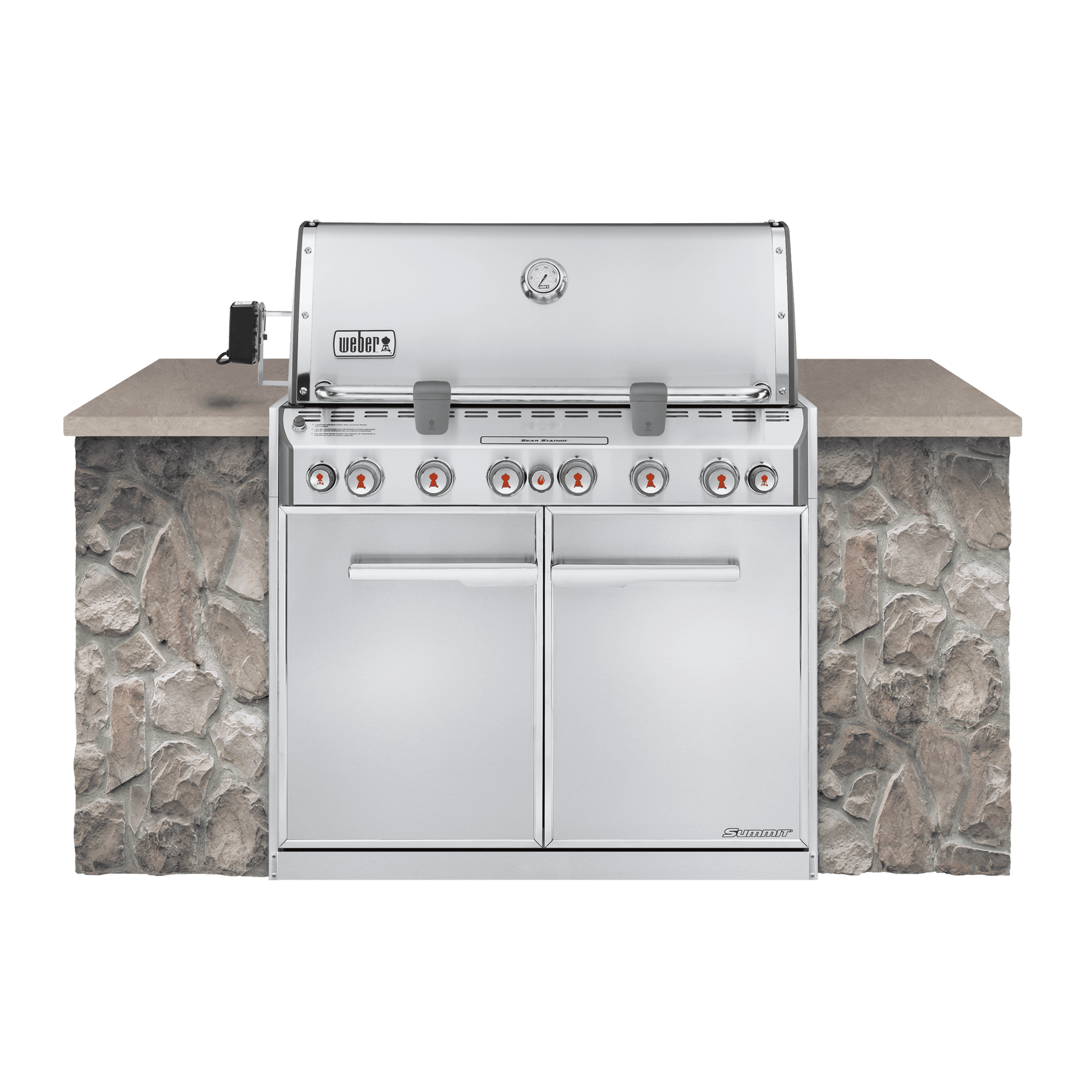 Summit® S-660 GBS Built-In – Gasgrill