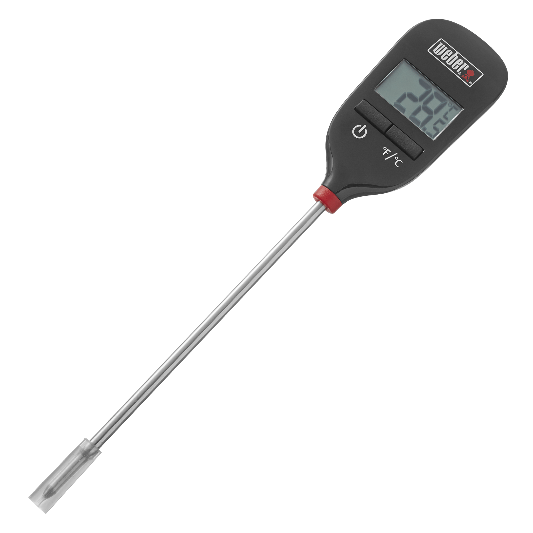 Direct afleesbare thermometer
