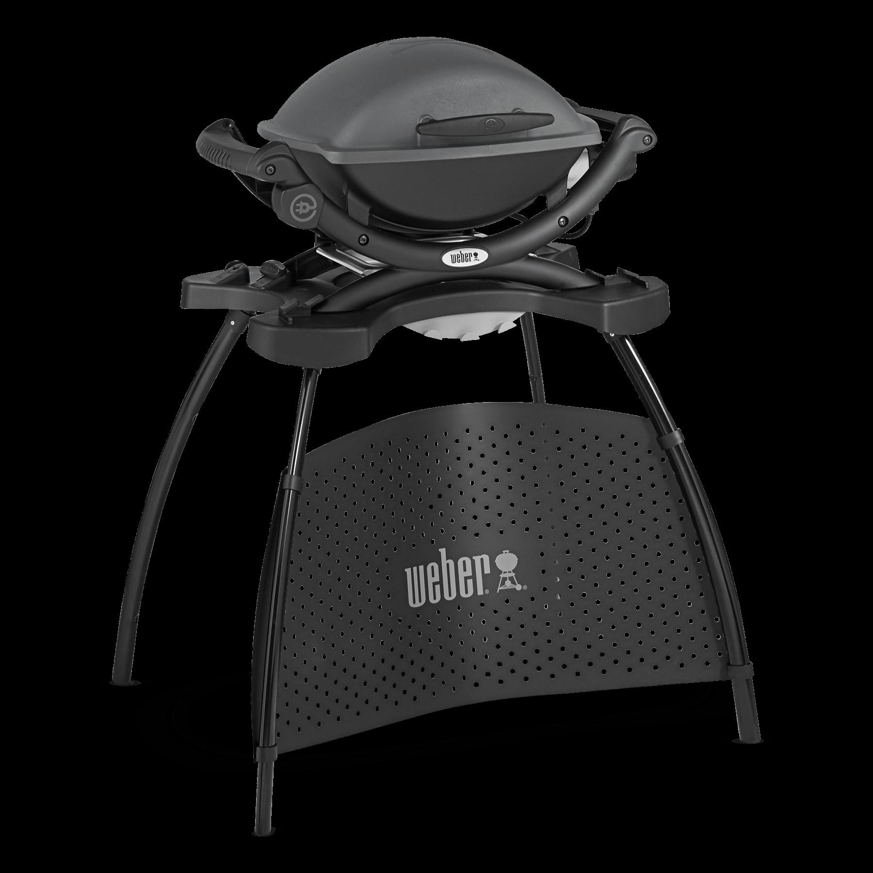 weber q 1400 elektrogrill mit stand weber grill original. Black Bedroom Furniture Sets. Home Design Ideas