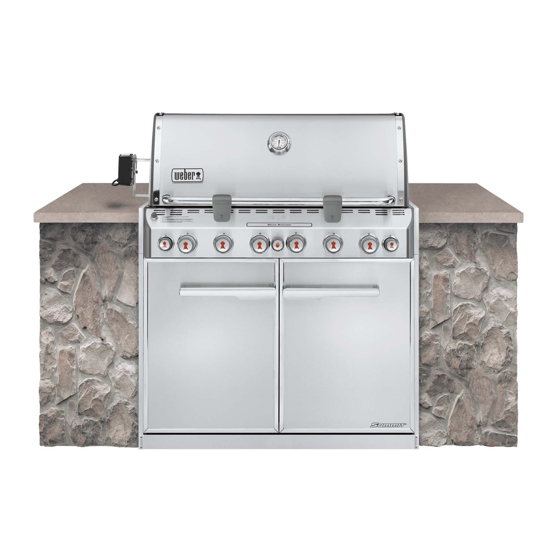 Weber Summit S 660 Built In Gas Grill