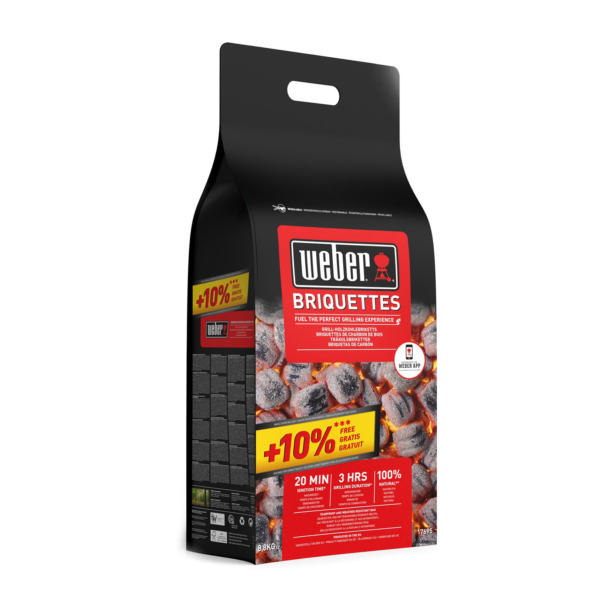Briketts (10% gratis), 8,8kg