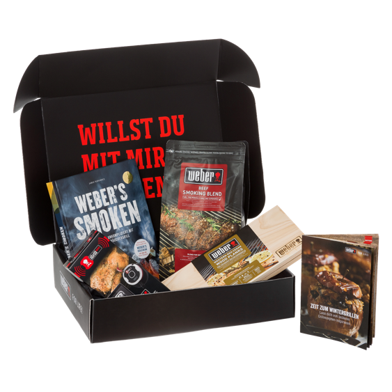 Weber Geschenkbox Smoken-Set