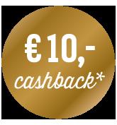 10€ Cashback