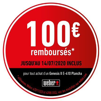 100 € remboursés