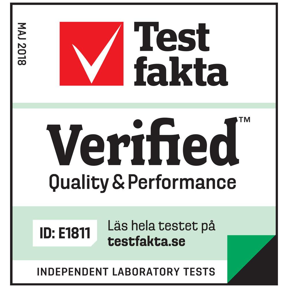 Test fakta Verified